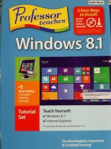 Individual Software Professor Teaches Windows 8.1 (New In Box Sealed)