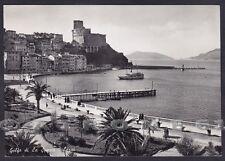 LA SPEZIA LERICI 59 Cartolina FOTOGRAFICA viaggiata 1951