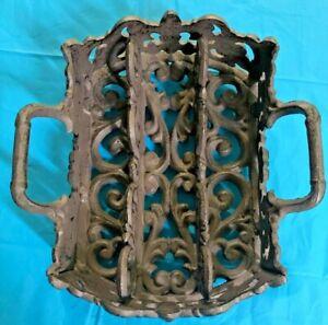 Cast Iron Silverware Holder