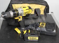 Dewalt 20V MAX DCD985 Hammer Drill Kit , Battery, Charger Bag  NICE 3ah LITHIUM