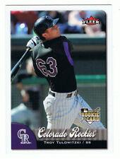 2007 Fleer #14 Troy Tulowitzki,rookie card,ss,Colorado Rockies,NM-MT