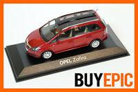 Minichamps Opel Zafira B Panorama Dach 1:43, Rot Metallic, Modellauto, NEU&OVP