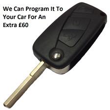 3 Button Flip Remote Key Fob 434MHZ For Peugeot-Citroen-Fiat Vans 2006-2009