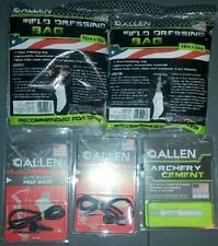 Allen Hunting Lot - Archery Cement 2 Automatic Peep Sights 2 Field Dressing Bags