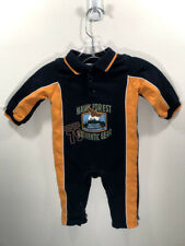 Baby Connection Infant Baby Boy Navy Blue Jumper Romper Size 12 Months