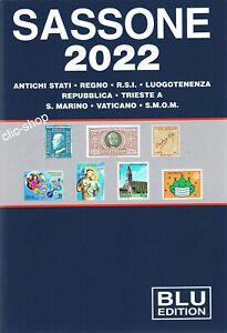 CATALOGO SASSONE BLU 2022  nuovo