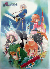Tales of Rebirth Poster Plastic Anime MINT