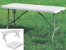 Mesa de jardín e campamento con Superior e Piernas plegable cm. 180x76xh74