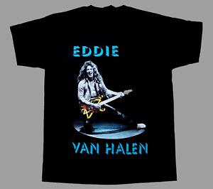 Eddie Van Halen Guitar Band T-Shirt, Van Halen Shirt, Retro Unisex Tee