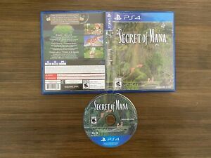 Secret of Mana (Sony PlayStation 4 PS4) [Complete In Box]