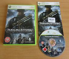 Damnation-Xbox 360 Shooter Action Spiel komplett mit Handbuch