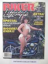 Biker Lifestyle  Magazine November 1983  Pappy Pitsley Memorial Run, Connecticut