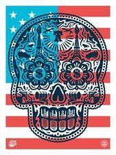 Shepard Fairey & Ernesto Yerena - Large Format Power and Glory 'Merica - America