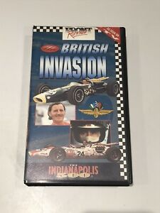 "The British Invasion ""The Indianapolis 500"" VHS Cassette"