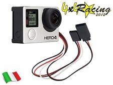 Mini USB To FPV Transmitter 5V Cable GoPro Hero 2 3 4 DJI Phantom AV cavo video
