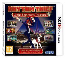 Rhythm Thief and the Emperor's Treasure (Nintendo 3DS XL) PAL Brand New