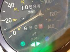VIGLIA BORLETTI SPEEDOMETER ODOMETER LOW MILES Fiat 124 Spider 10,684 miles