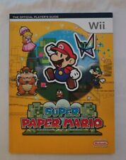 Super Paper Mario Nintendo Wii Strategy Guide Book - Used