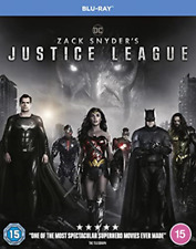 Zack Snyder`S Justice League (UK IMPORT) BLU-RAY NEW