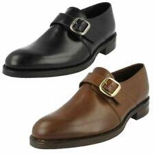 Zapatos de vestir de hombre negras, goma