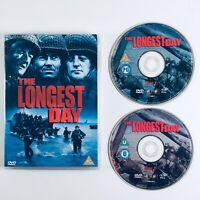 The Longest Day (2 Disc DVD, 2001)  John Wayne  Robert Ryan  Richard Burton