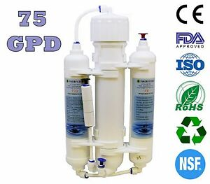 Finerfilters 3 Stage Compact Reverse Osmosis Unit (RO) - Marine Discus (75GPD)