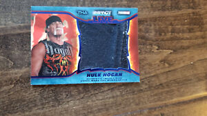 2013 TRISTAR TNA IMPACT LIVE RELIC EVENT WORN CLOTHING CARD HULK HOGAN 23/25 WWE