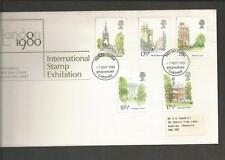 GREAT BRITAIN - 1980 Sightseeings in London  - FIRST DAY COVER.