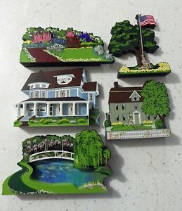 Shelia's Collectibles - set/lot of 5 Misc. pieces from various Collections - New