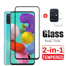 For Samsung A12 A32 A42 A52 A72 5G Tempered Glass Camera Lens Screen Protector