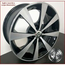 STAR BD 4 CERCHI IN LEGA DA 15 4X108 ET18 X CITROEN C2 C3 C4 DS3 MADE IN ITALY