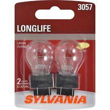 Brake Light-Long Life-Twin Pack Rear Sylvania 3057LL BP