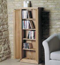 MoBEL Solid Oak Furnitutre DVD Storage Cupboard Cabinet Home Office COR17B