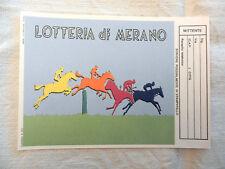 Cartolina LOTTERIA DI Merano 1° Premio 2 Miliardi