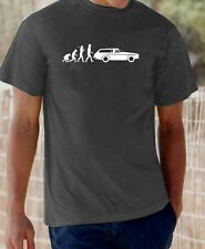 """Evolution of Man"" Volvo P1800ES t-shirt"
