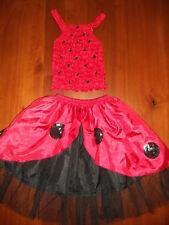 Girls Lady Bug Fairy Dress 2 piece  M Size 2-4