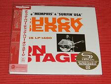 2017 JAPAN CHUCK BERRY ON STAGE  with 11 BONUS TRACKS  MINI LP SHM CD