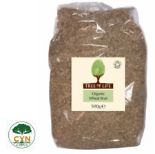 Tree of Life   Organic Wheat Bran 500g   Organic Food   Organic Ingredients