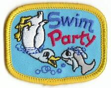 Girl Boy Cub Pool Party Girly Swimming Fun Patches Crests Badges Scout Guide