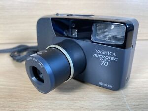 Vintage Yashica Microtec Zoom 70 Kyocera Point & Shoot 35mm Film Camera -Working