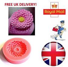 Fiore di Loto Forma Stampo in silicone fondente cake topper strumenti di modellazione Mold-UK