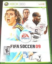 XBOX 360  game FIFA Soccer 09 + manual, disc, case & insert