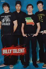 BILLY TALENT - A3 Poster (ca. 42 x 28 cm) - Clippings Fan Sammlung NEU