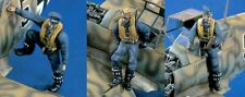 Verlinden 1/48 German Luftwaffe Fighter Pilots WWII (3 Figures) [Resin kit] 1339