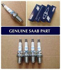 SAAB 9-3 VIGGEN & 9-5 AERO SPARK PLUG SET, BRAND NEW, GENUINE, 9399866 PFR6H-10
