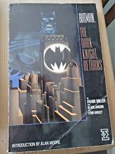BATMAN THE DARK KNIGHT RETURNS GRAPHIC NOVEL 1986 TITAN BOOKS