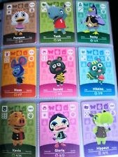 Animal Crossing Amiibo Karten - NEU!! NIE BENUTZT!!
