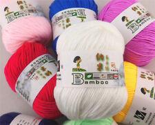 Ball x 50g Hand-woven NEW Knitting Baby wool yarn NanoProtein velvet 87 Colors