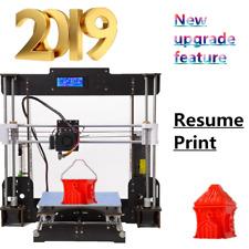 2019 CTC A8 3d Printer Prusa i3 DIY Upgraded Quality High Precision Resume Print