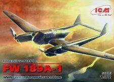 FOCKE WULF FW-189 A-1 UHU/RAMA (LUFTWAFFE MARKINGS) #72291 1/72 ICM BRAND NEW!